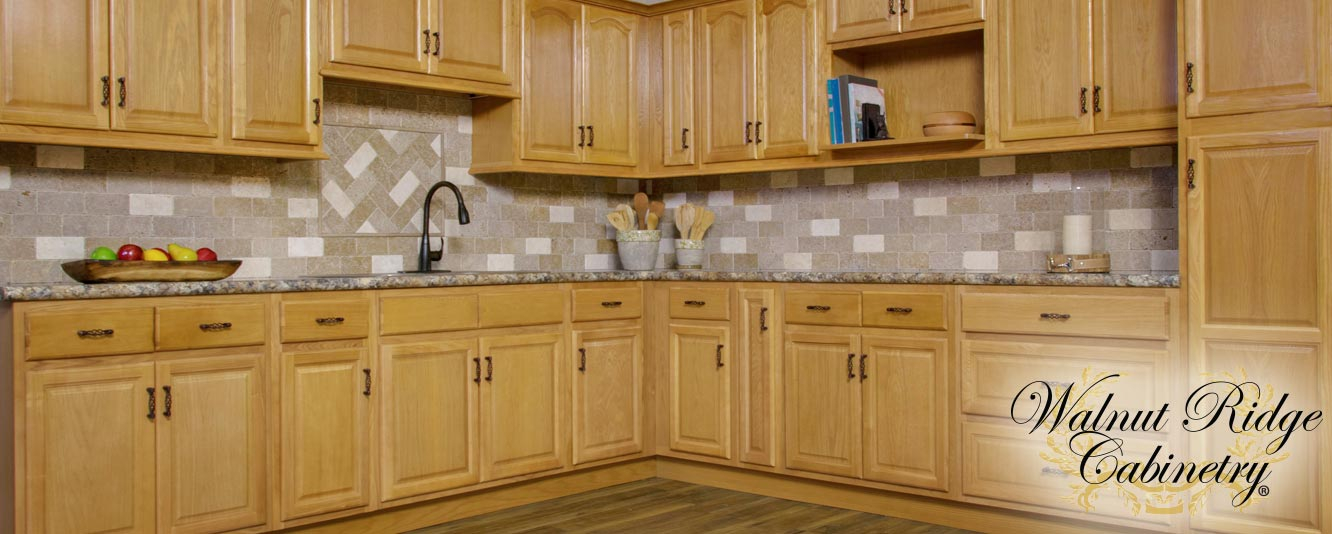 Appalachian Oak Kitchen Cabinets