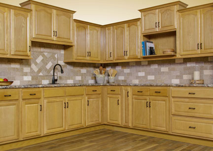 Appalachian Oak - Kitchen Cabinets - Super Home Surplus Store View