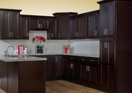 shaker espresso - Images Of Kitchen Cabinets