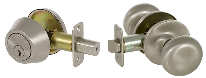 Saxon Entry/Deadbolt Combo 300T-SA-US15 / KS3001