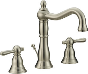 "6""-12"" Two Handle Widespread Lavatory Faucet P30202-15- Brushed Nickel"