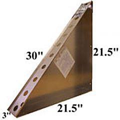 """Corner Bench 30"""""""