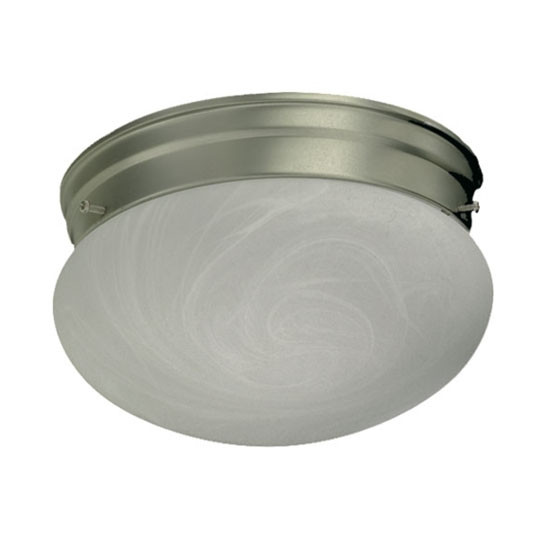 "8"" Satin Nickel Ceiling Mount Light 3021-8-65"