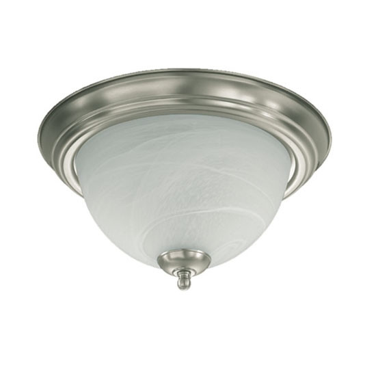 "11"" Satin Nickel Ceiling Mount Light 3066-11-65"