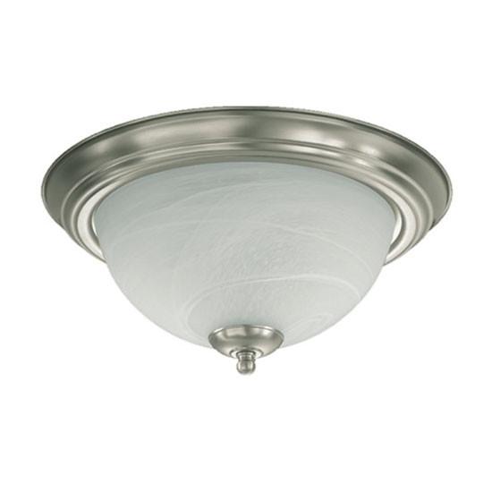 "13"" Satin Nickel Ceiling Mount Light 3066-13-65"