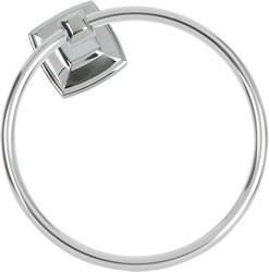 Towel Ring Polished Chrome Square US26 588506
