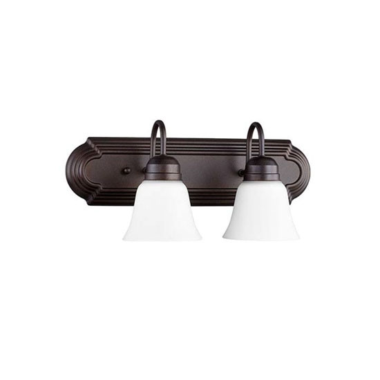 2 Light Oiled Bronze Vanity Light 5094-2-86