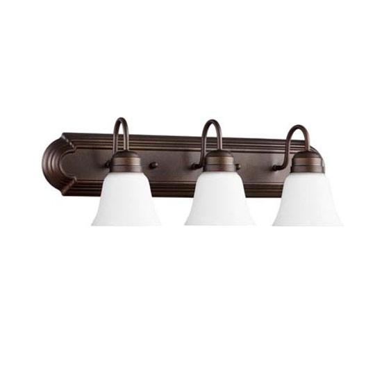 3 Light Oiled Bronze Vanity Light 5094-3-86
