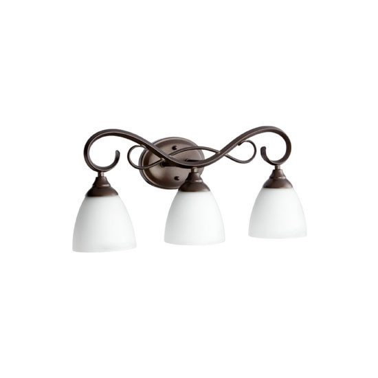 3 Light Oiled Bronze Vanity Light 5108-3-86