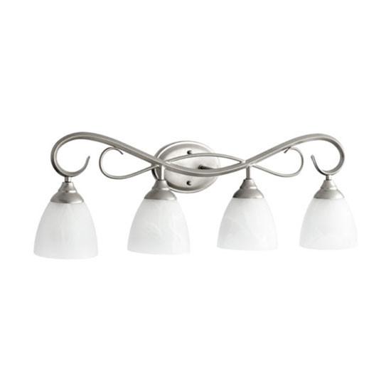 4 Light Classic Nickel Vanity Light 5108-4-64