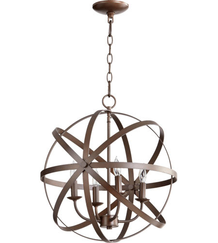 Celeste 4 Light Sphere Chandelier 6009-4-86