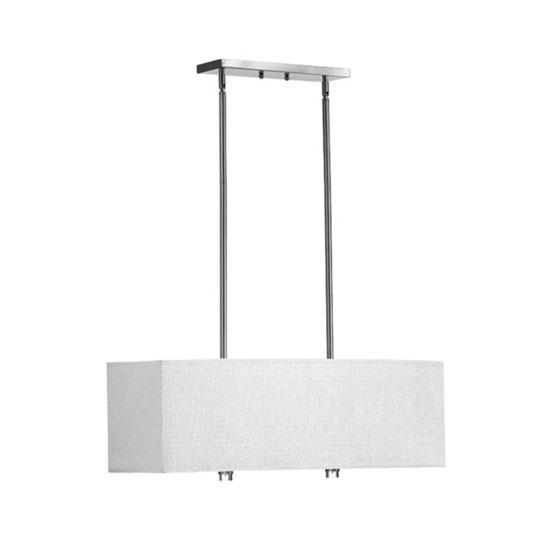 Copeland 4 Light Satin Nickel Island Fixture 860-4-65