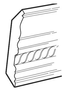 """SHGCM96C 4 1/2""""W x 96""""L"""