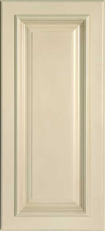 Antique White Wall Cabinet Sample