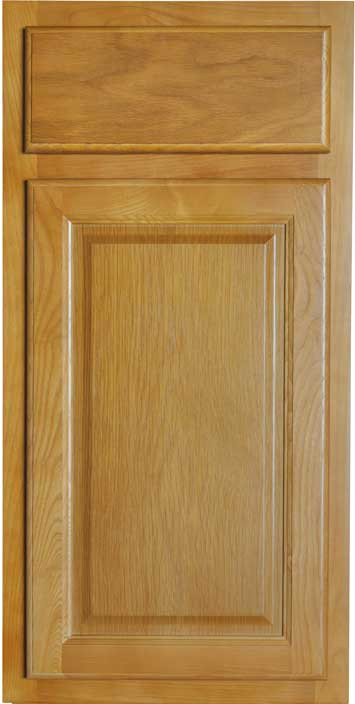 Appalachian Oak Cabinet Sample