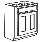 Unfinished Maple Base Kitchen Cabinet