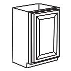 Base Cabinet 9 Inch - Charleston Coffee Glaze CCGB09