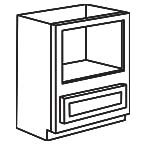 Base Microwave Cabinet - Shaker Espresso SEBMC30