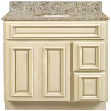 Bathroom Vanity - Antique White
