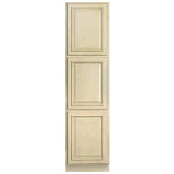 Linen Cabinet - Antique White