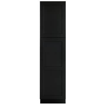 Linen Cabinet - Shaker Black