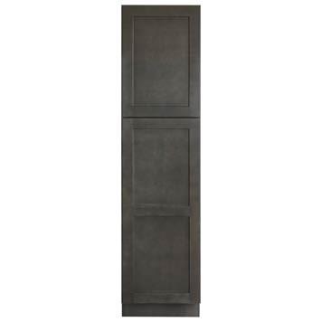 Linen Cabinet - Shaker Gray