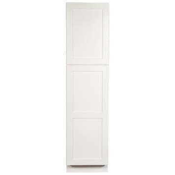 Linen Cabinet - Shaker White