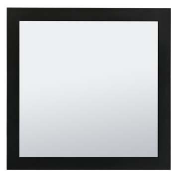 Vanity Mirror - Shaker Black