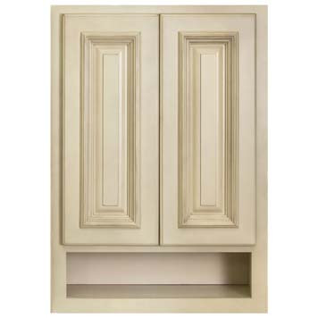 Overjohn Cabinet - Antique White