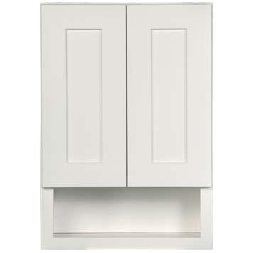 Overjohn Cabinet - Shaker White