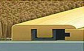 """0667 Kentucky Walnut End Cap 7'-8""""L x 1.38""""W x .47"""" T"""