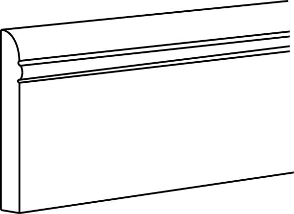 """SHGFBM96 3/4""""W x 4 1/2""""H x 96""""L"""