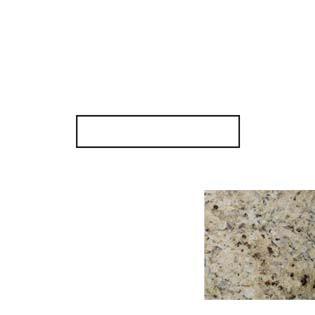 Giallo Cecilia Granite Side Splash
