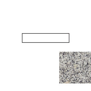 Mission White Granite Side Splash