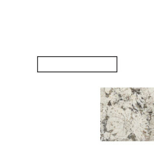 White Diamond Granite Side Splash