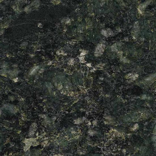 49x22 Butterfly Green Granite Top with No Cut Out