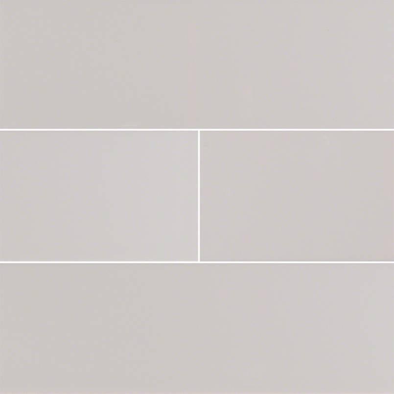 Gray Glossy 4x16 Subway Tile