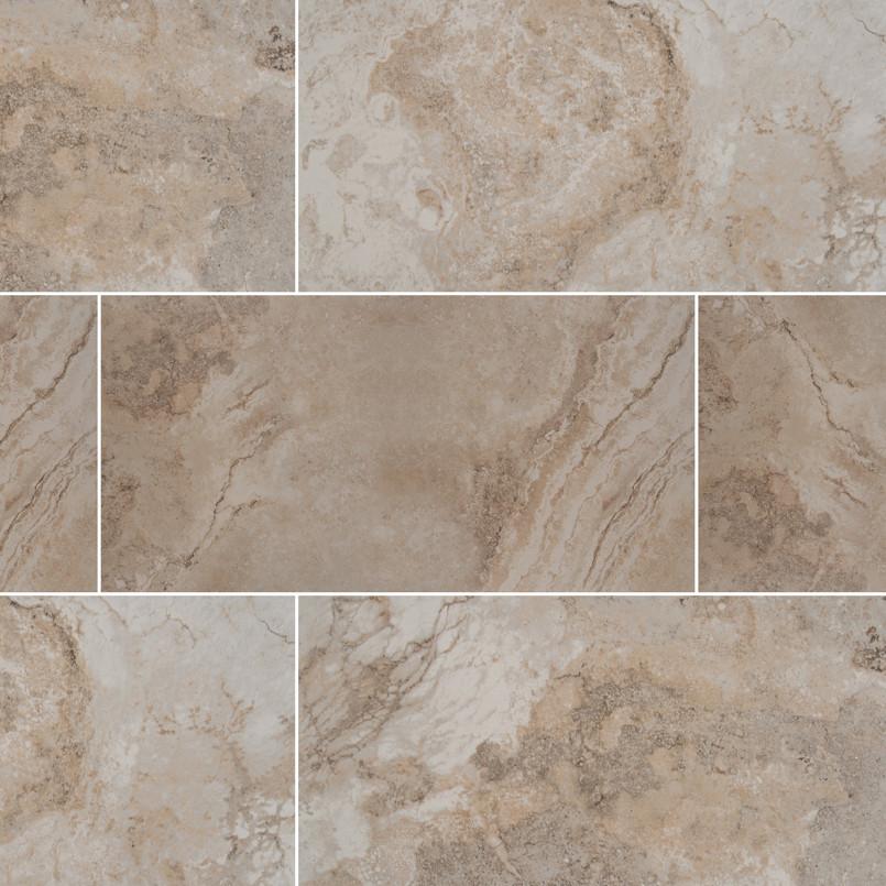 Napa Beige 12 Inch x 24 Inch Ceramic Tile