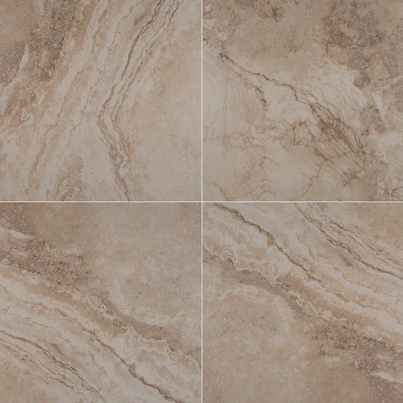 Napa Beige 13 Inch x 13 Inch Ceramic Tile
