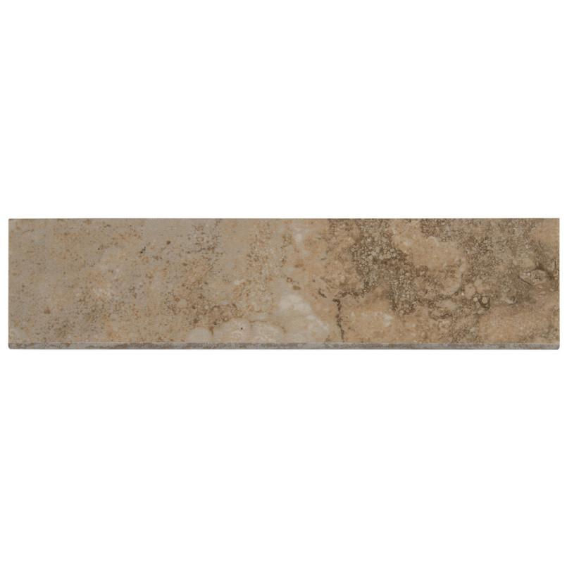 Napa Beige 3 Inch x 13 Inch Ceramic Bullnose Tile