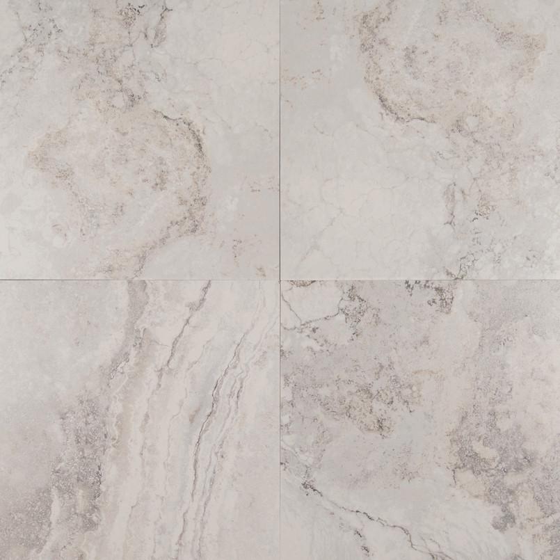 Napa Gray 13 Inch x 13 Inch Ceramic Tile