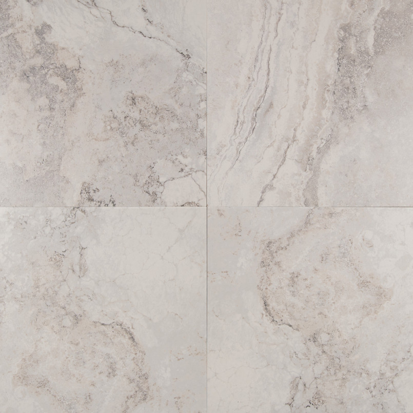 Napa Gray 20 Inch x 20 Inch Ceramic Tile