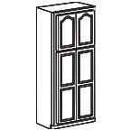 Pantry Cabinet 24 x 84 Inch AOWP2484 - Appalachian Oak