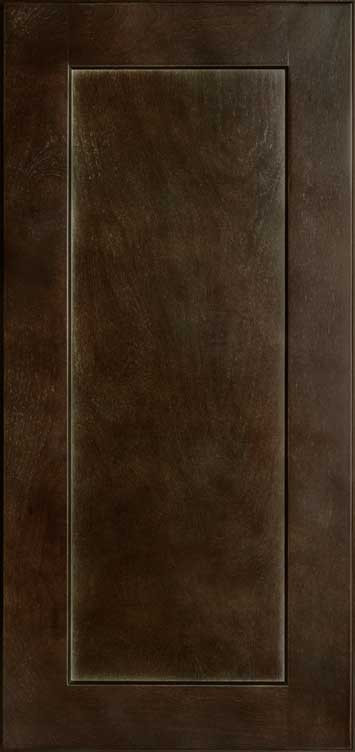Shaker Espresso Wall Cabinet Sample