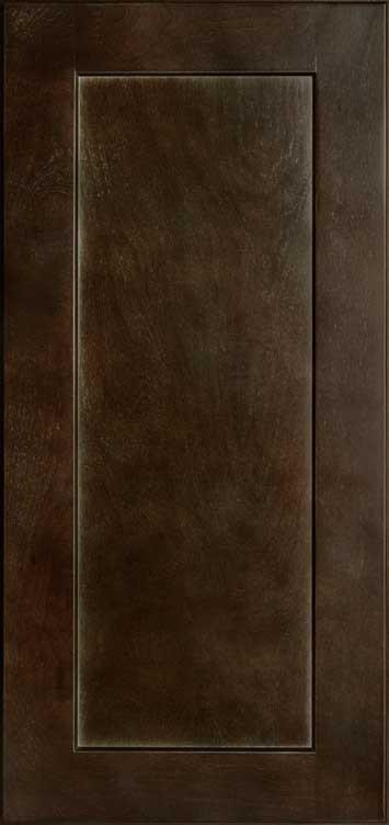 Shaker Espresso Wall Cabinet Sample