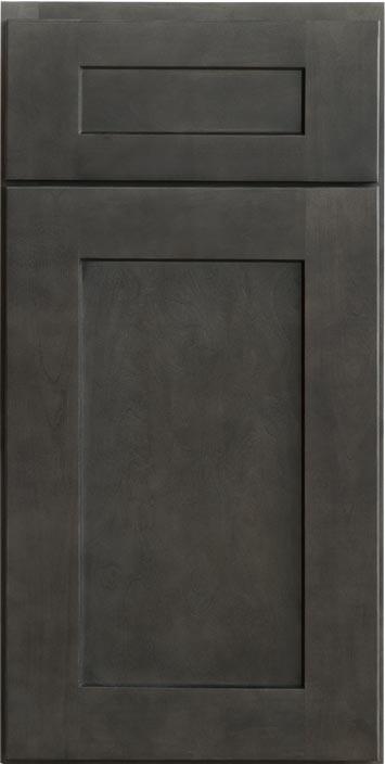 Shaker Gray Cabinet Sample