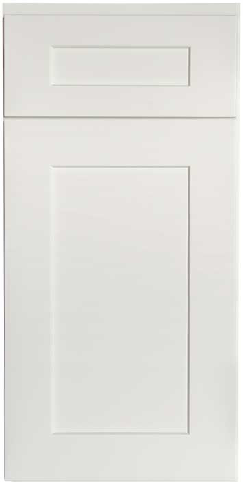 Shaker White Cabinet Sample