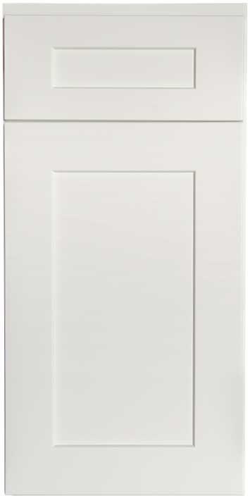 Shaker White Cabinet Sample