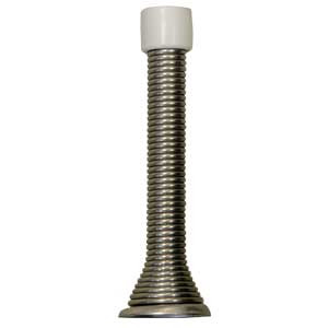 Spring Door Stop Satin Nickel