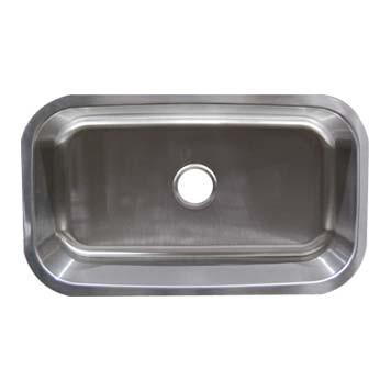 Stainless Steel Undermount Sink - Single Bowl UM23179